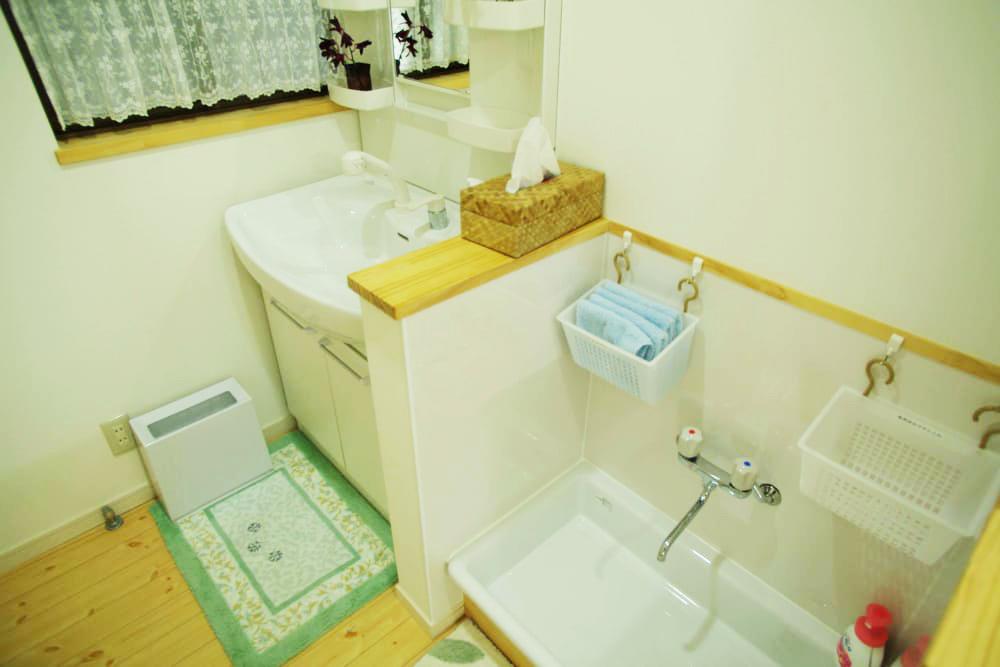 手足洗い場